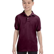 Youth 5.2 oz., 50/50 ComfortBlend® EcoSmart® Jersey Knit Polo