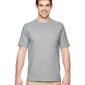 5.6 oz., 50/50 Heavyweight Blend™ Pocket T-Shirt