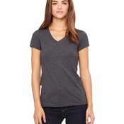 Ladies' Jersey Short-Sleeve V-Neck T-Shirt