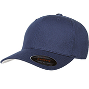 6-Panel Structured Mid-Profile Cotton Twill Cap