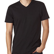 4.5 oz., 100% Ringspun Cotton nano-T® V-Neck T-Shirt