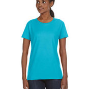 Ladies' Midweight Mid-Scoop T-Shirt