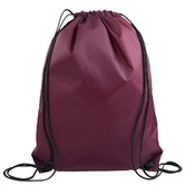 Screen Printed Drawstring Backpack