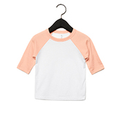 Toddler 3/4-Sleeve Baseball T-Shirt