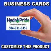 Business Cards - Hi Gloss