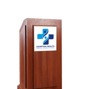 podium signs - small foamboard
