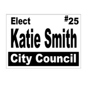 Yard Signs 25 and up