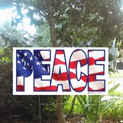 "24x12 ""Peace"" Sign"