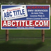 "72""X36"" 4mm corrugated plastic sign 1 sided"
