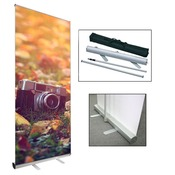 "40"" x 79"" Retractable Banner with Stand"