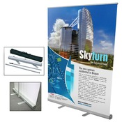 "57"" x 79"" Retractable Banner with Stand"
