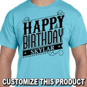 Happy Birthday T-Shirt 7