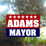 16x24 Political Yard Signs 2 color Screen Print or Digital Print Min 50 units