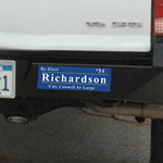 12x4 Bumper Sticker +2 lapel stickers