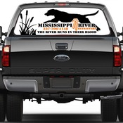 Window Perforation vinyl decal