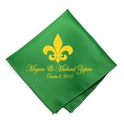 Second Line Wedding Handkerchiefs In Color