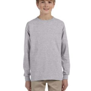 100% cotton youth long sleeve Thumbnail