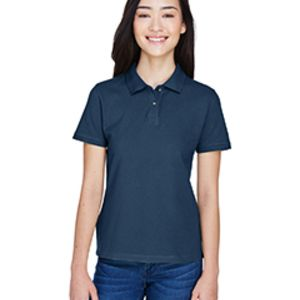 Ladies' 6 oz. Ringspun Cotton Piqué Short-Sleeve Polo Thumbnail
