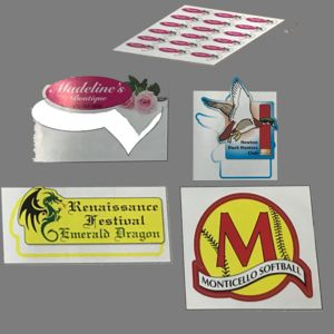 Small Labels - square Stickers - Decals  Thumbnail